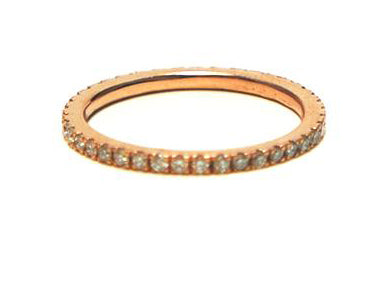 Item No. R006  Diamonod Eternity Band