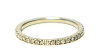 Item No. R008  Diamonod Eternity Band