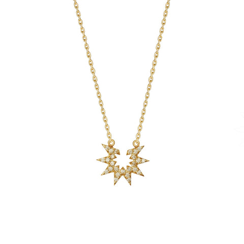 Diamond Estrella Necklace
