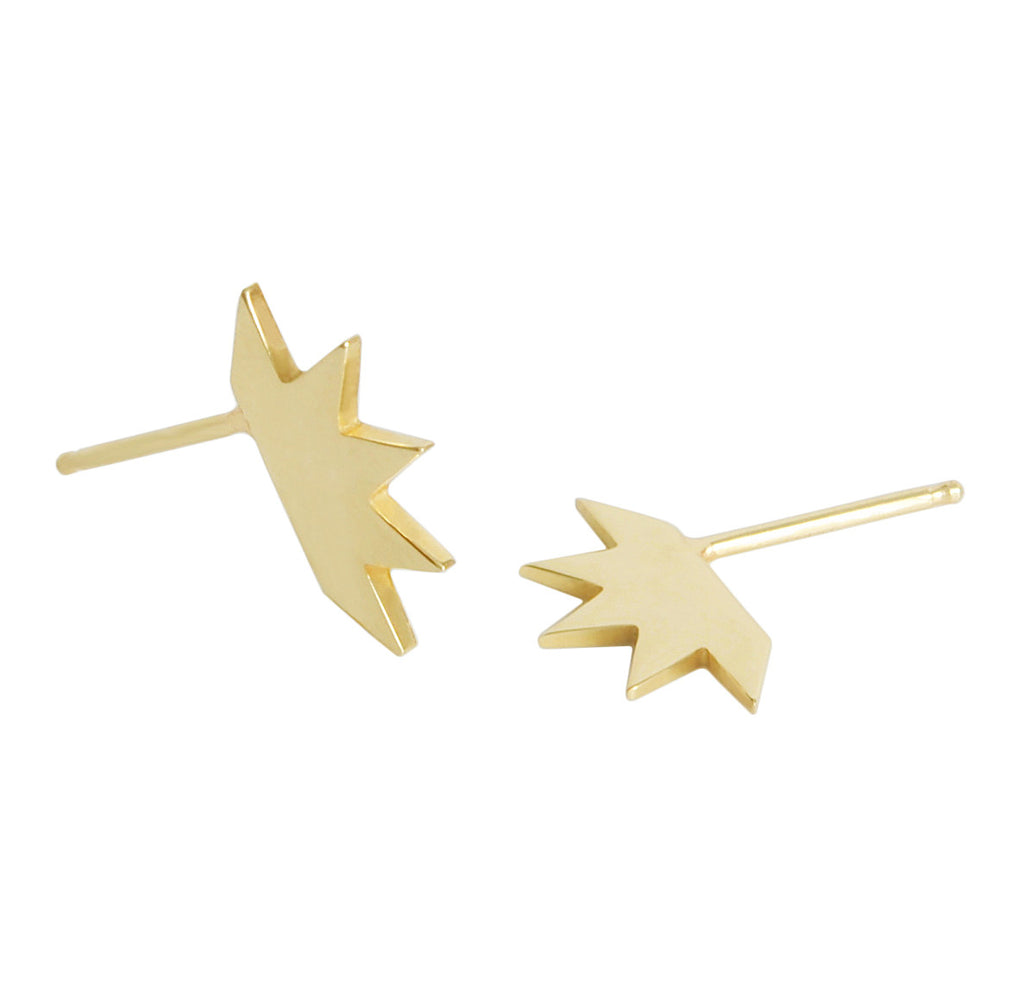 Item No E045 Palm Earrings