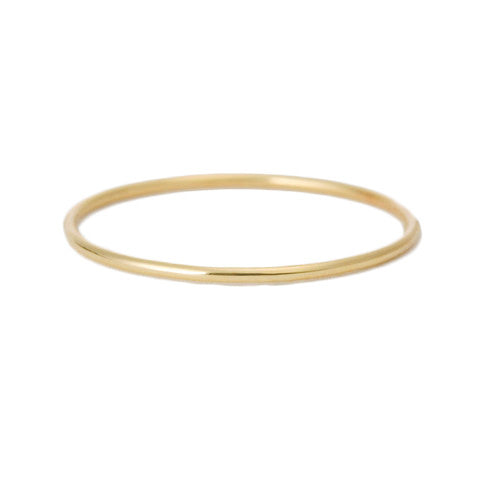 Thin Smooth Stacking Ring