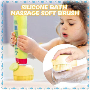 Silicone Bath Massage Soft Brush