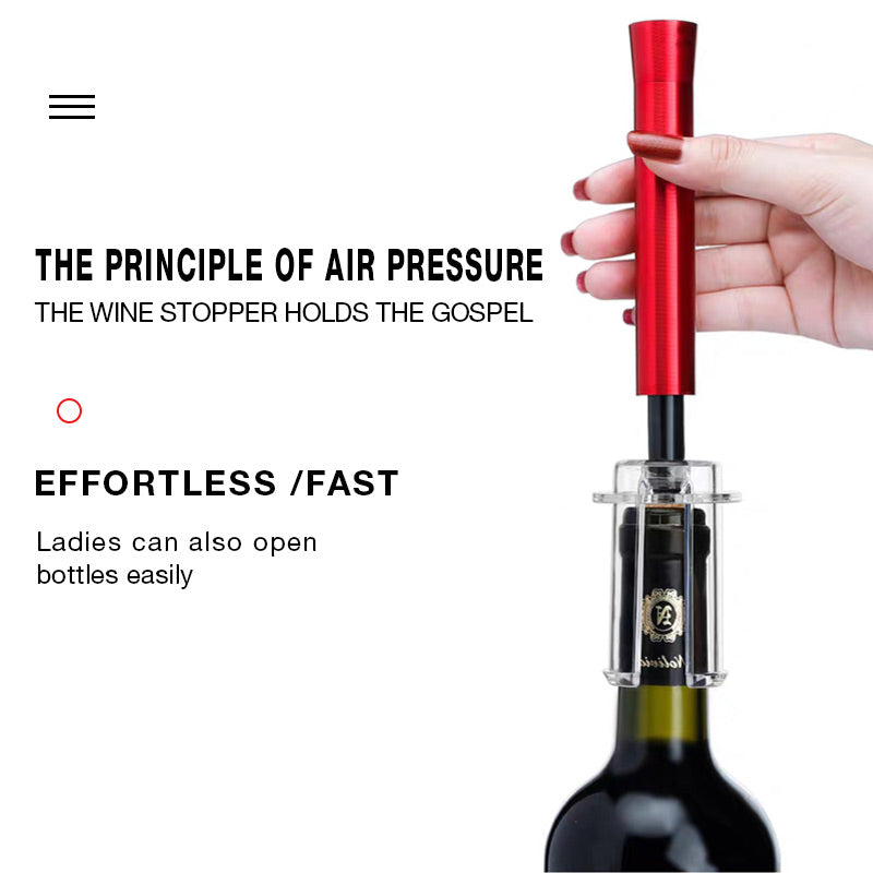 Amazingly simple wine opener