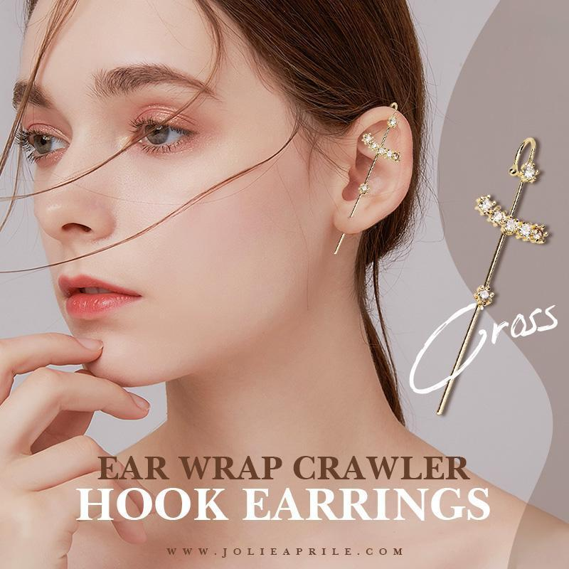 ✨Year-end Promotion✨ Ear Wrap Crawler Hook Earrings(USA Arrive Within 7 Days)
