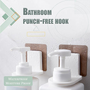 Bathroom Punch-Free Hook (3 PCS)