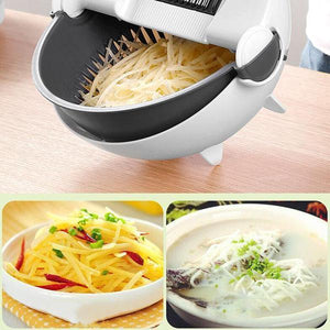 Double Layer Rotatable Vegetable Cutter
