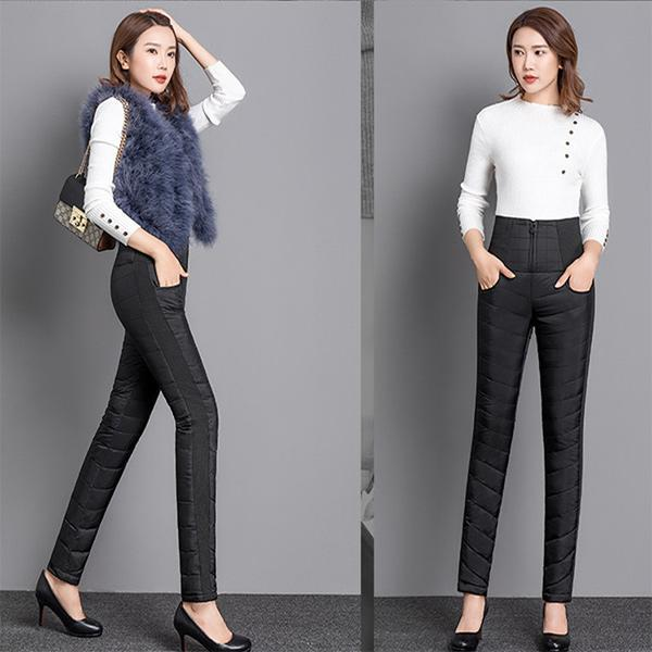 Double-sided Down Cotton Trousers