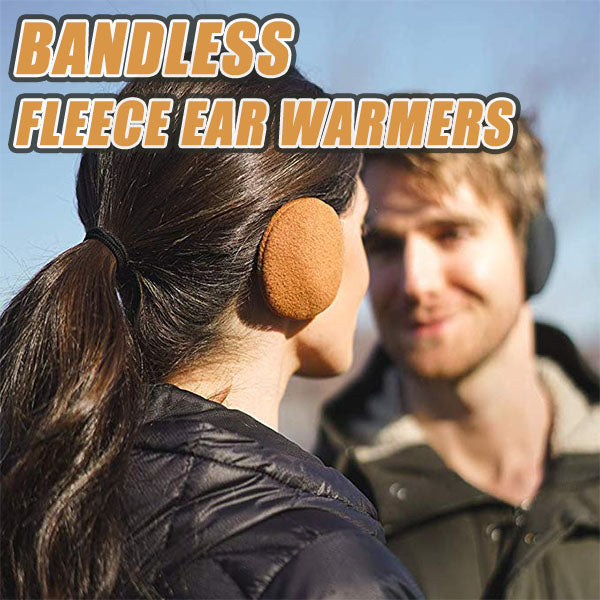 Bandless Fleece Ear Warmers