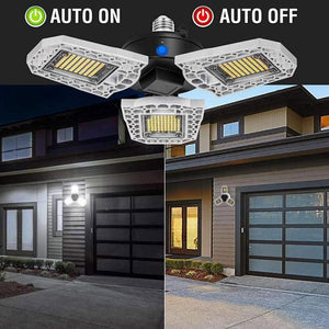Three-Leaf Garage Light