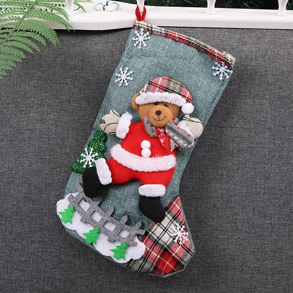 Christmas Stocking Gift & Candy Bags (4 Pcs)
