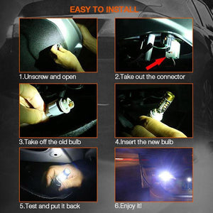 Mintiml LED Taillight-Decoding Reversing Brake Car Taillight