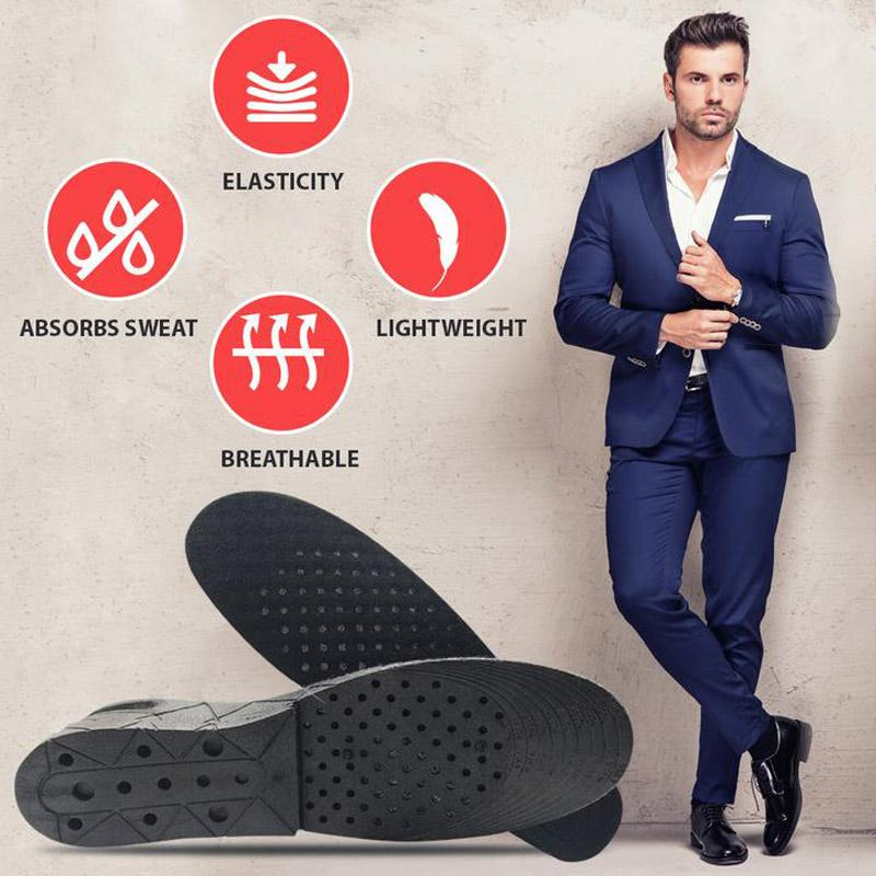 Adjustable Invisible  Heightening Insoles