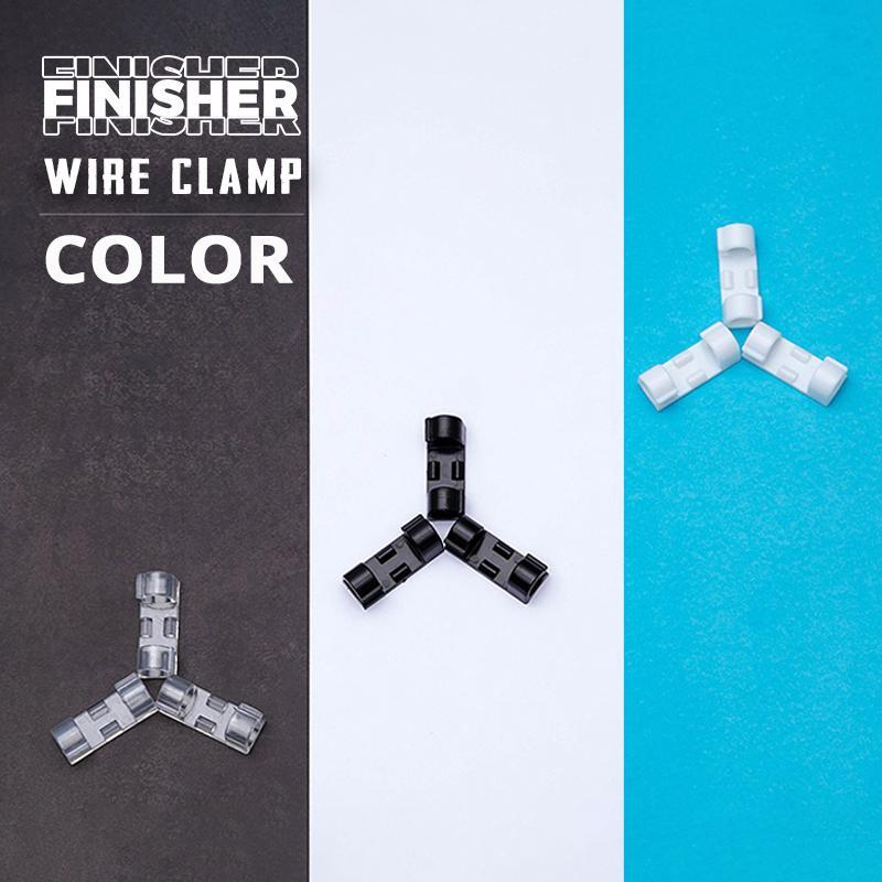 (Factory Outlet) (60% OFF!!) Transparent Finisher Wire Clamp
