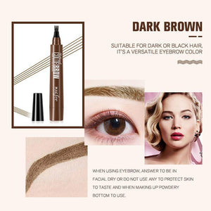 (60% OFF TODAY)4 Points Eyebrow Pen