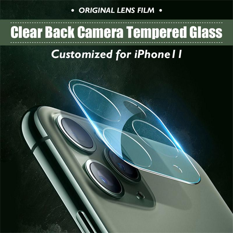 Clear Back Camera Tempered Glass for iPhone 11