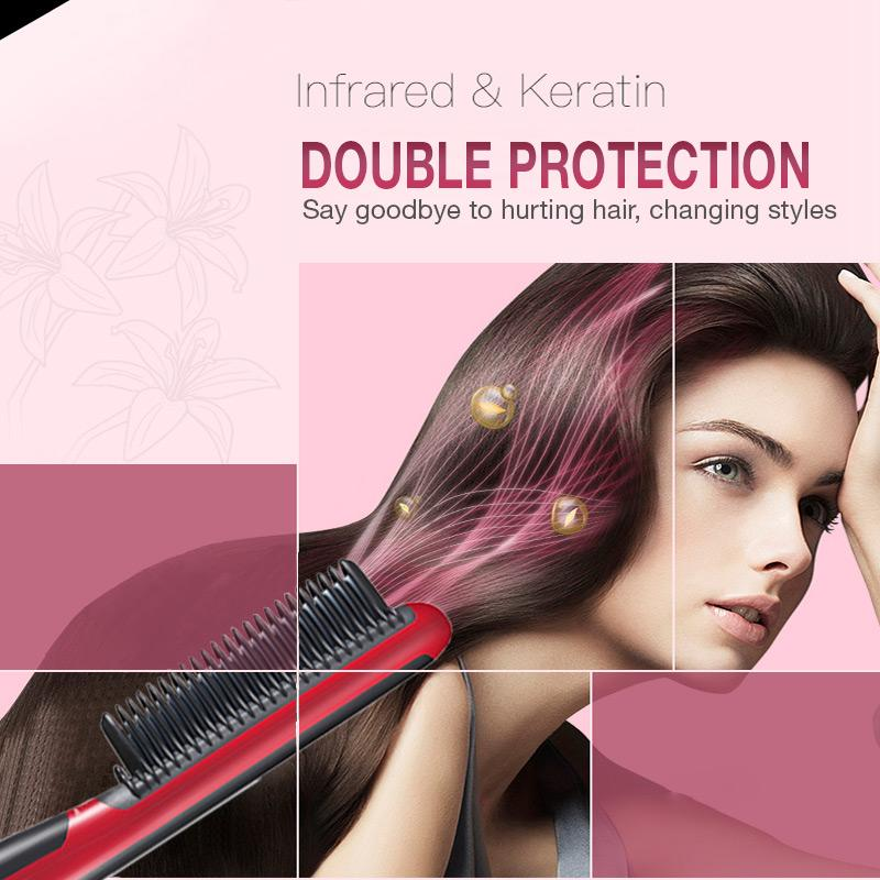 (60% OFF TODAY)Hair Straight Styler