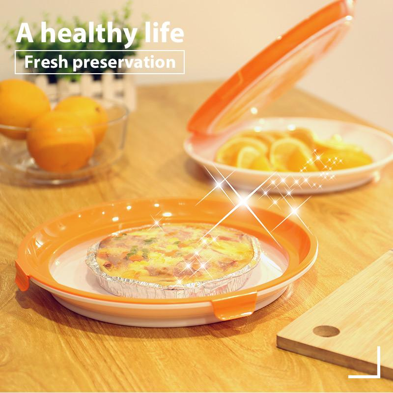 Round Food Preservation Tray