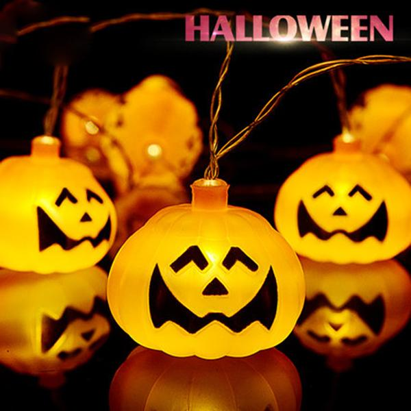 16LEDs Halloween Pumpkin/Xenon Lights