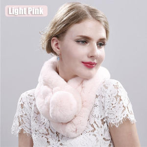 Rex Rabbit Hair Scarf