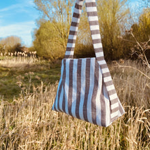 Load image into Gallery viewer, THIRTY NINE STUDIO | FOURTEEN | Stripe Mini Tote