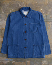 Load image into Gallery viewer, USKEES The #3001 Buttoned Overshirt in Washed Denim