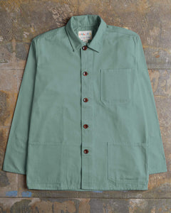 USKEES The #3001 Buttoned Overshirt in Jade