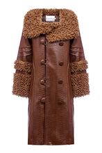 Load image into Gallery viewer, House of Sunny Chocolate Penny Coat