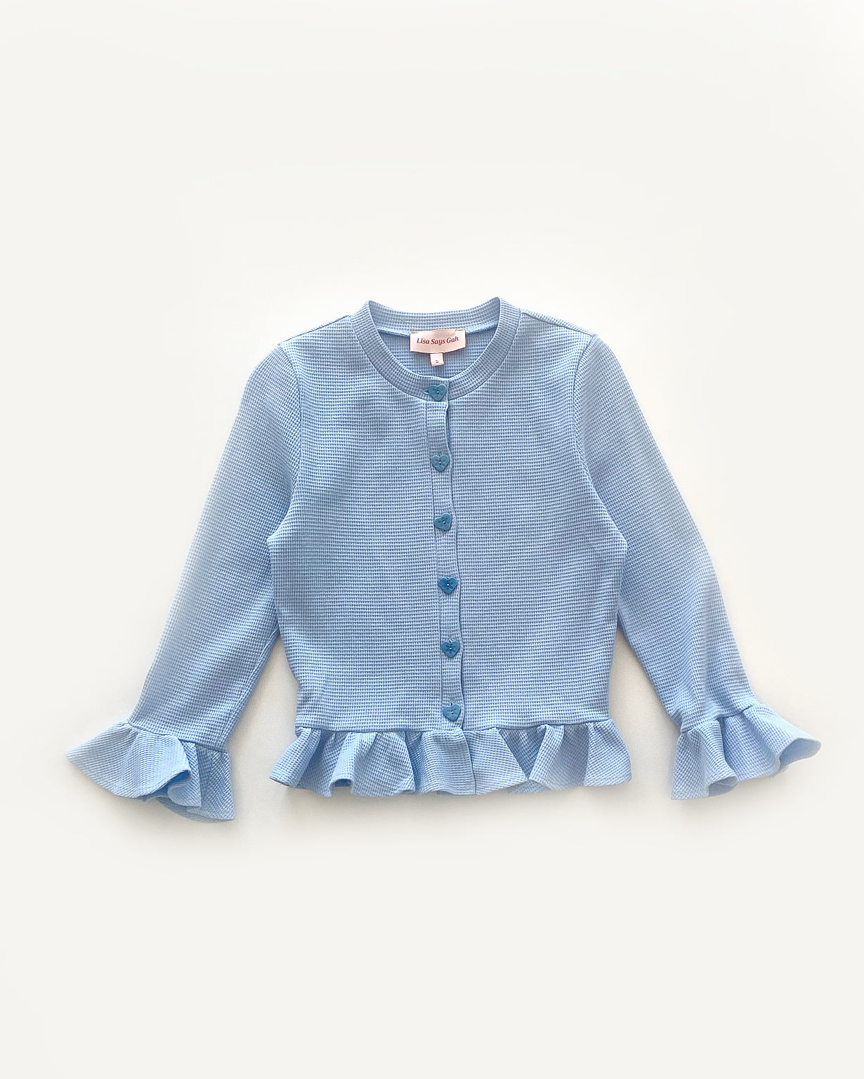 LSG X KJPlumb | Olivia Top in Cornflower Blue