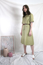 Load image into Gallery viewer, Vintage Workwear Dress in Khaki