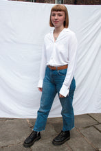 Load image into Gallery viewer, White Floaty Blouse (M)