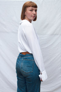 White Floaty Blouse (M)