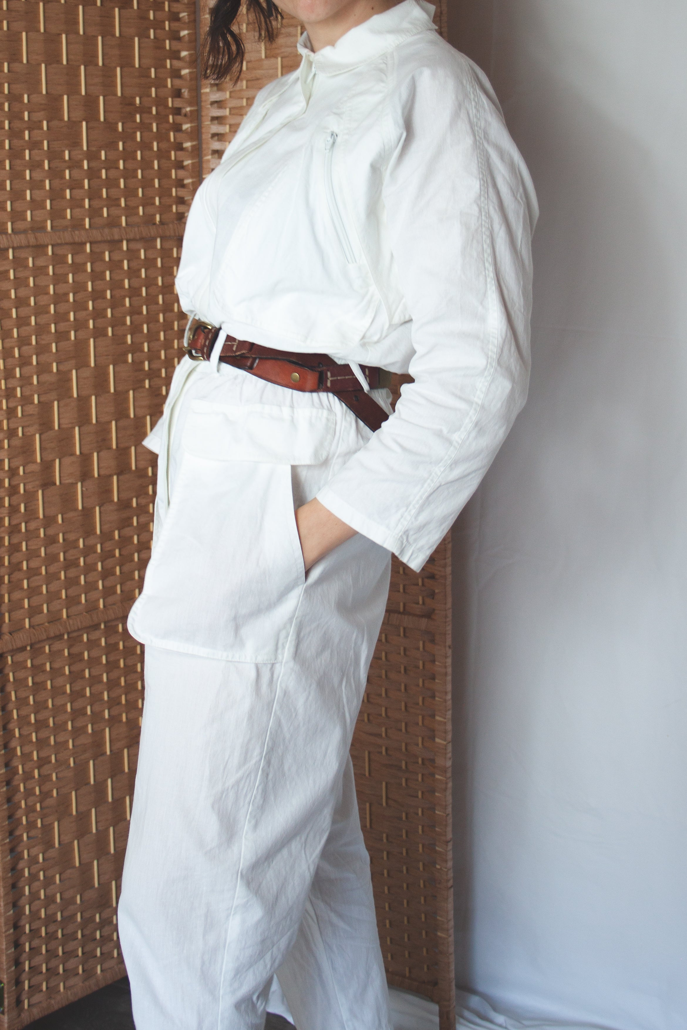 White boilersuit (XS-S)