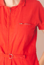 Load image into Gallery viewer, Red Boilersuit (XS-S)