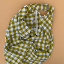 Load image into Gallery viewer, Gingham Shopper in Lime