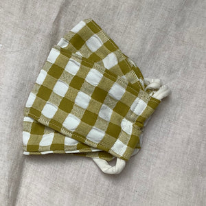 Open image in slideshow, Seersucker Gingham Face Mask