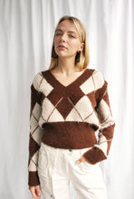 Load image into Gallery viewer, House of Sunny Heritage Diamond Knit w/ removable sleeves