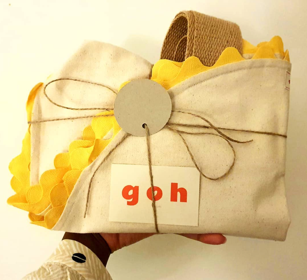 Goh Totes | Sunflower Tote in Yellow