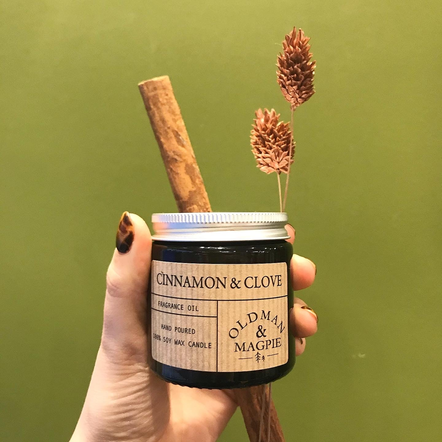 Soy Wax Candle | Cinnamon and Clove