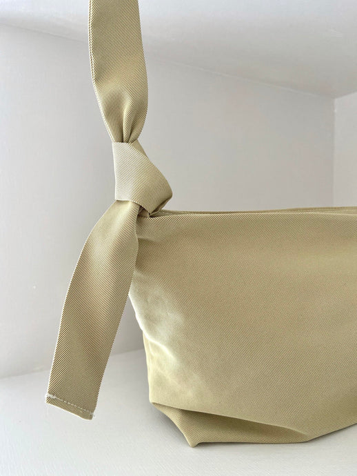 THIRTY NINE STUDIO | SIXTY FOUR | Gold Silk Cross Body