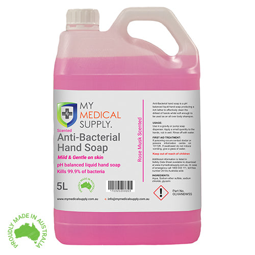Scented Hand Soap – 5L (New Zealand Customers)