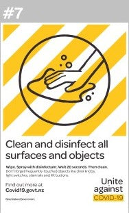 Clean & Disinfect - Covid19 #7