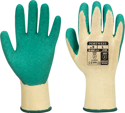 Green | Grip Glove | The Safety Warehouse - Online Mega Store.