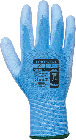 Blue | PU Palm Glove | The Safety Warehouse - Online Mega Store.
