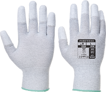 Antistatic PU Fingertip Glove -  A198
