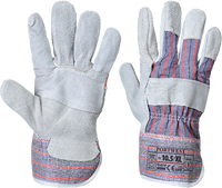 Grey | Double Palm Rigger | The Safety Warehouse - Online Mega Store.