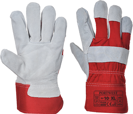 Red | Double Palm Rigger | The Safety Warehouse - Online Mega Store.