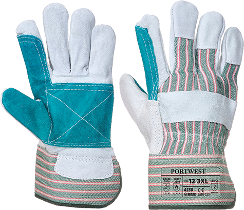 Grey/Green | Tergsus Glove | The Safety Warehouse - Online Mega Store.