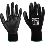 Black | Nitrile Light Knitwrist Glove | The Safety Warehouse - Online Mega Store.