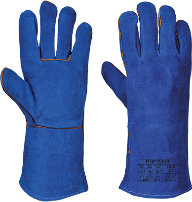 Blue | Tig Welders Gauntlet | The Safety Warehouse - Online Mega Store.