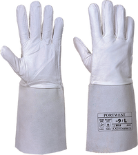 Grey | Welding Gauntlet | The Safety Warehouse - Online Mega Store.